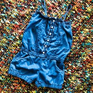 Adorable girls romper
